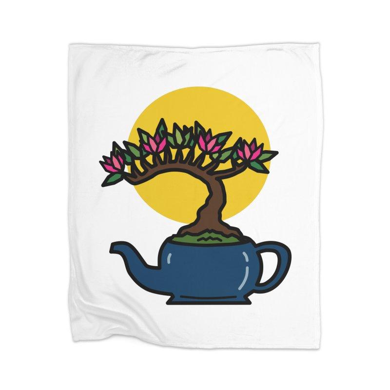 Bonsai Tree - #5 Home Blanket by LadyBaigStudio's Artist Shop