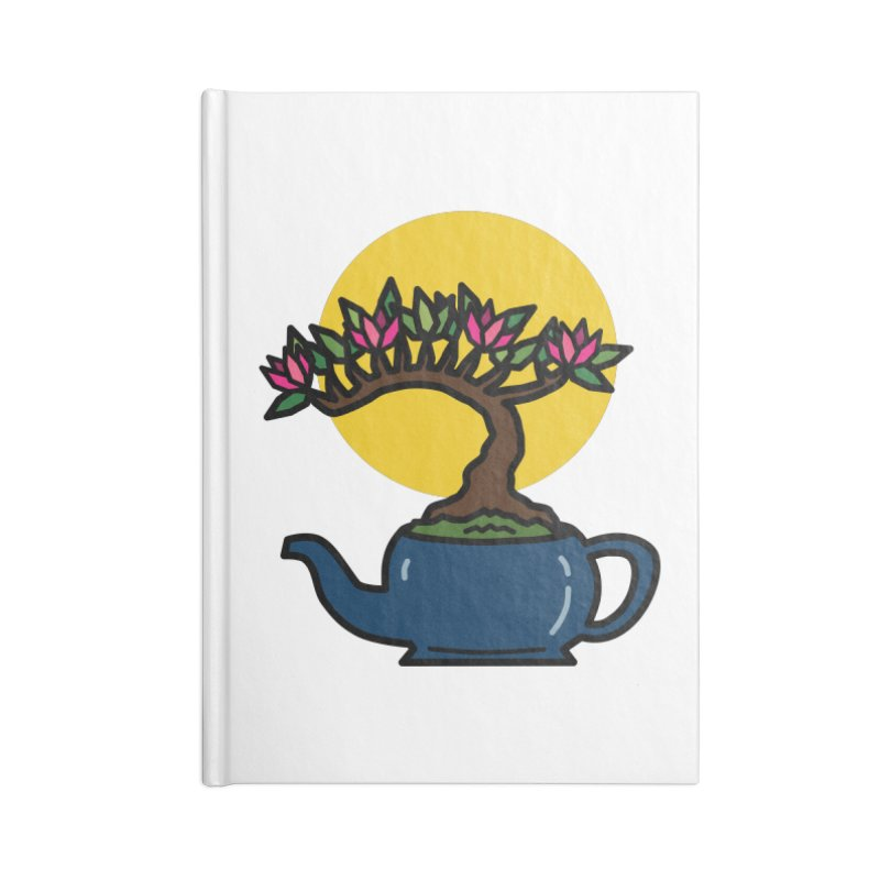 Bonsai Tree - #5 Accessories Notebook by LadyBaigStudio's Artist Shop