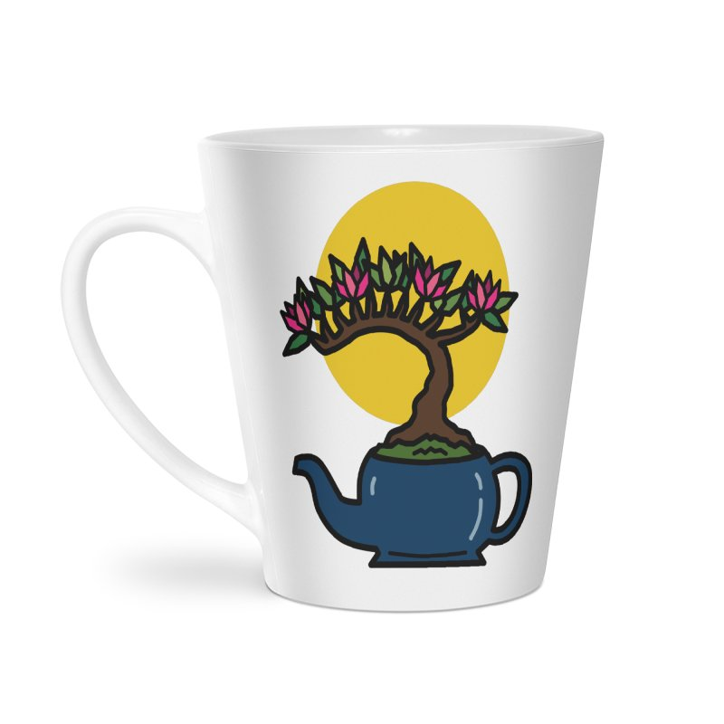Bonsai Tree - #5 Accessories Latte Mug by LadyBaigStudio's Artist Shop