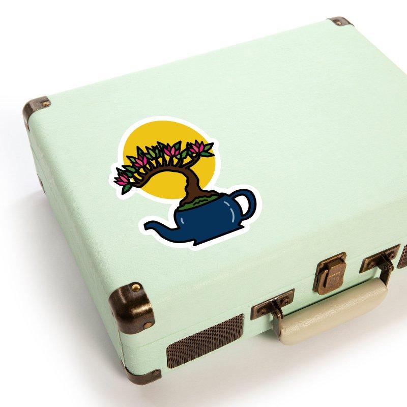 Bonsai Tree - #5 Accessories Sticker by LadyBaigStudio's Artist Shop