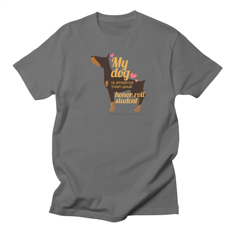 Smart dog Men's T-Shirt by Lakeshore PAWS's Shop