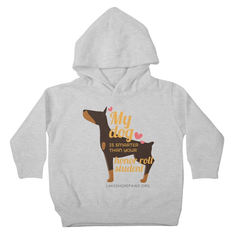 Smart dog Kids Toddler Pullover Hoody by Lakeshore PAWS's Shop