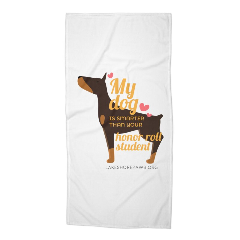 Smart dog Accessories Beach Towel by Lakeshore PAWS's Shop