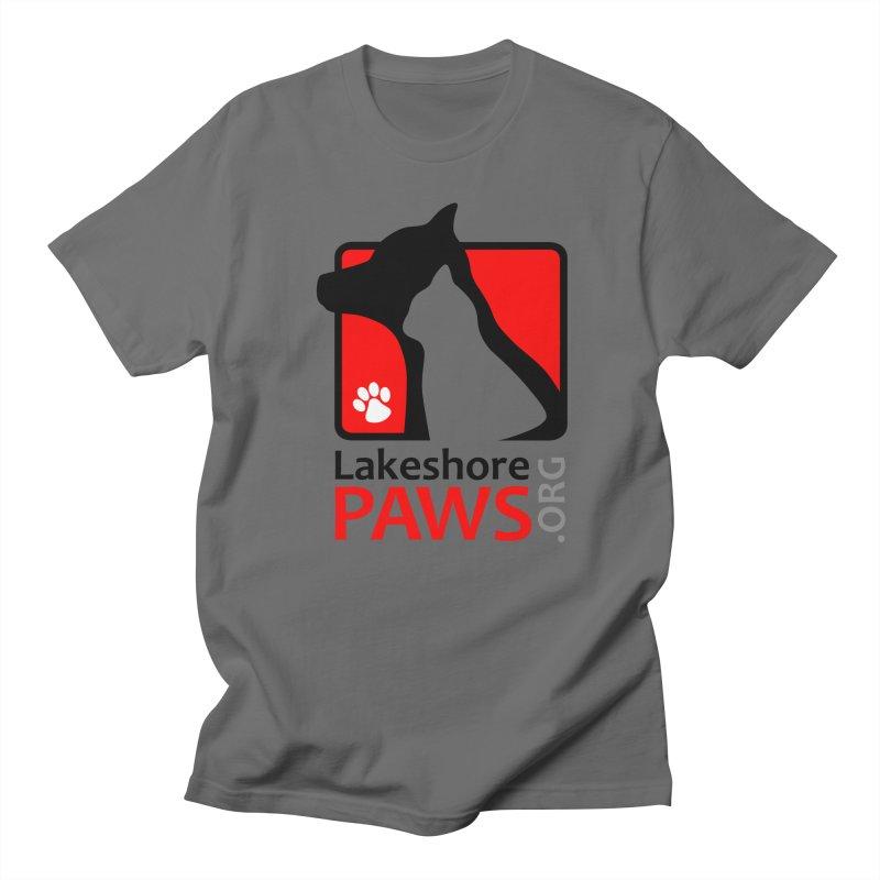 Lakeshore PAWS Logo Men's T-Shirt by Lakeshore PAWS's Shop
