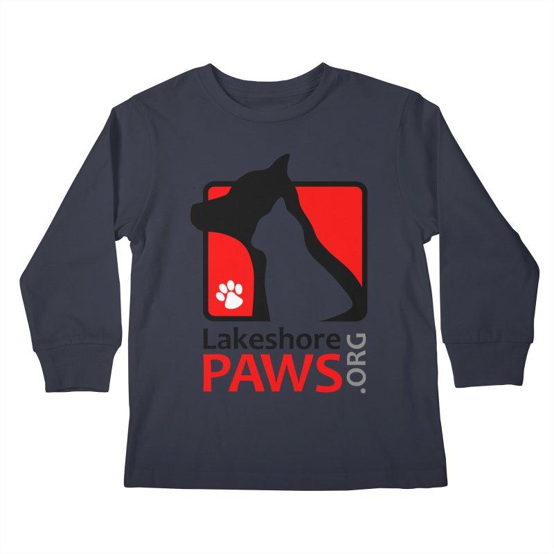 Lakeshore PAWS Logo Kids Longsleeve T-Shirt by Lakeshore PAWS's Shop
