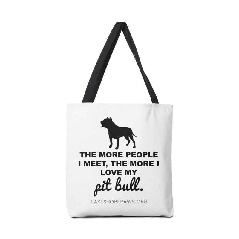 Lakeshore PAWS loves Pit Bulls Accessories Bag by Lakeshore PAWS's Shop