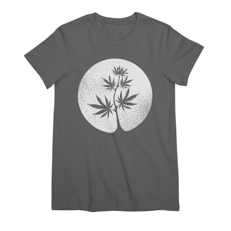 Offering the Moon Women's T-Shirt by Lane Creek Hemp's Artist Shop