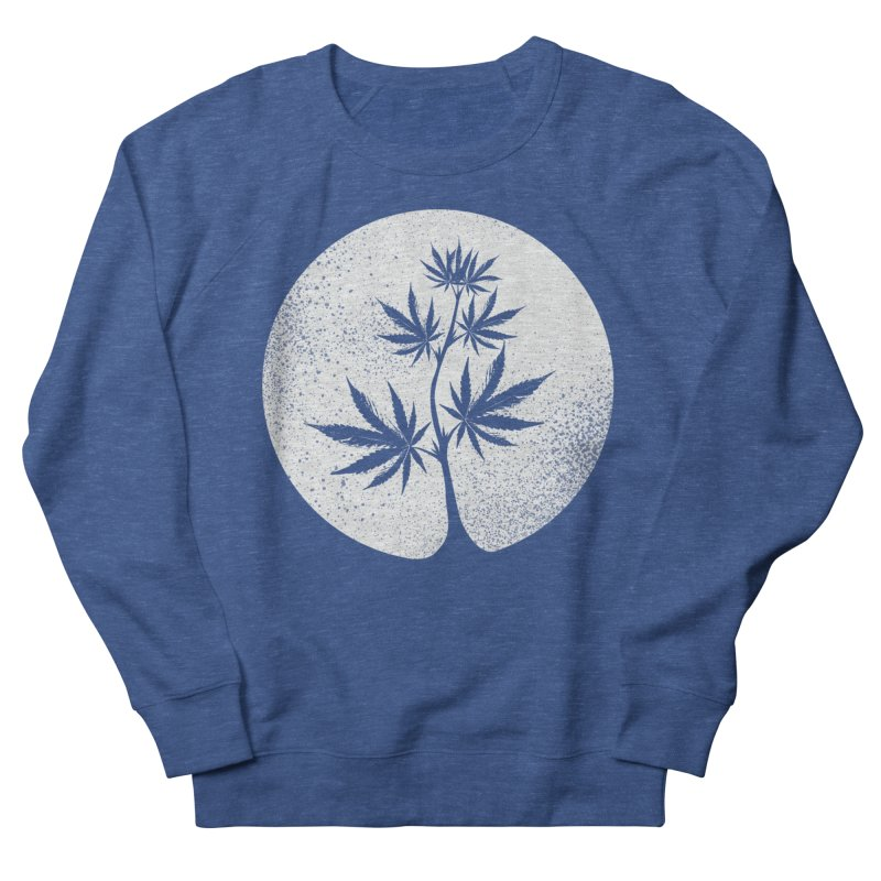 Offering the Moon Men's Sweatshirt by Lane Creek Hemp's Artist Shop