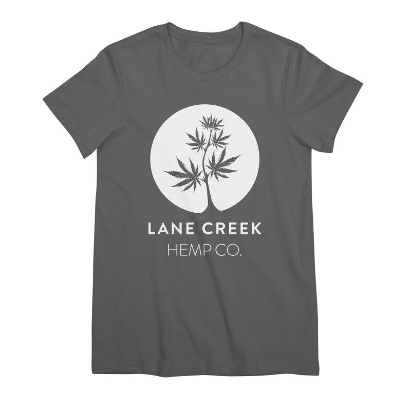 Awwhite Women's T-Shirt by Lane Creek Hemp's Artist Shop