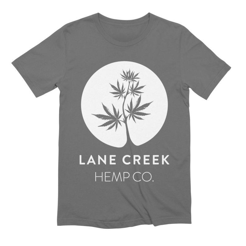 Awwhite Men's T-Shirt by Lane Creek Hemp's Artist Shop