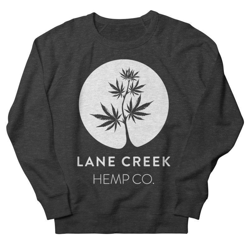 Awwhite Men's Sweatshirt by Lane Creek Hemp's Artist Shop