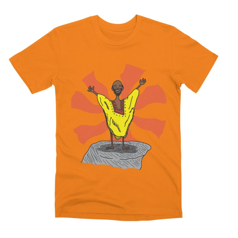 The Elated Guru Men's T-Shirt by Lanky Lad Apparel