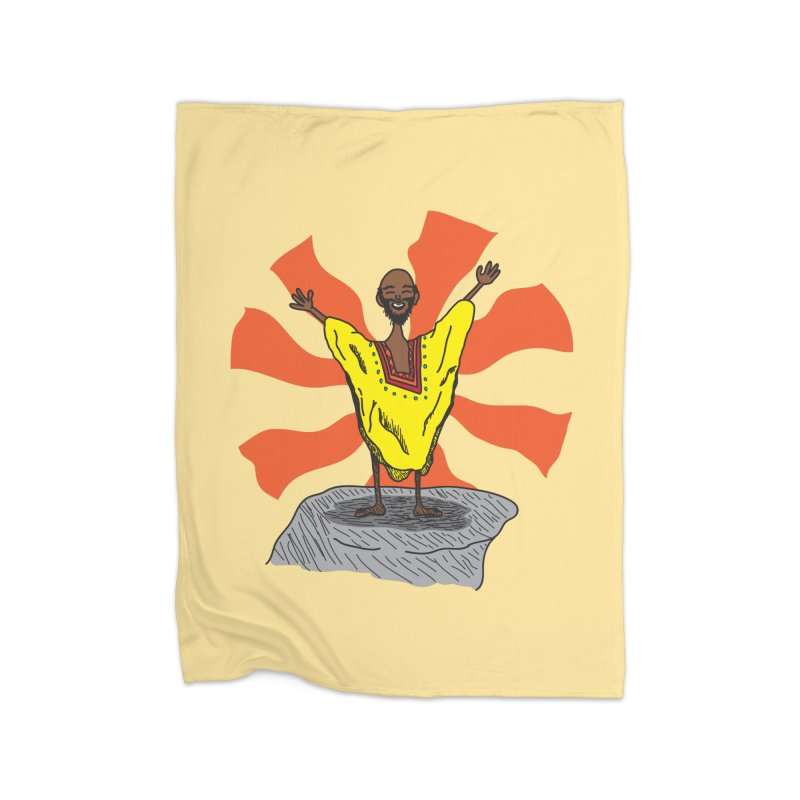 The Elated Guru Home Blanket by Lanky Lad Apparel