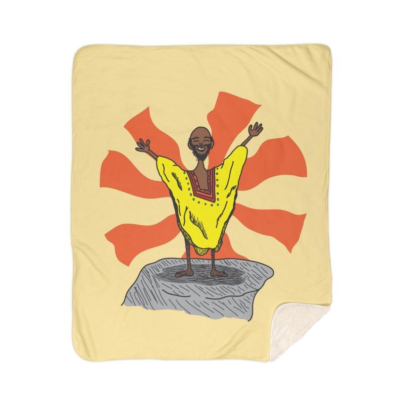 The Elated Guru Home Blanket by Lanky Lad Apparel