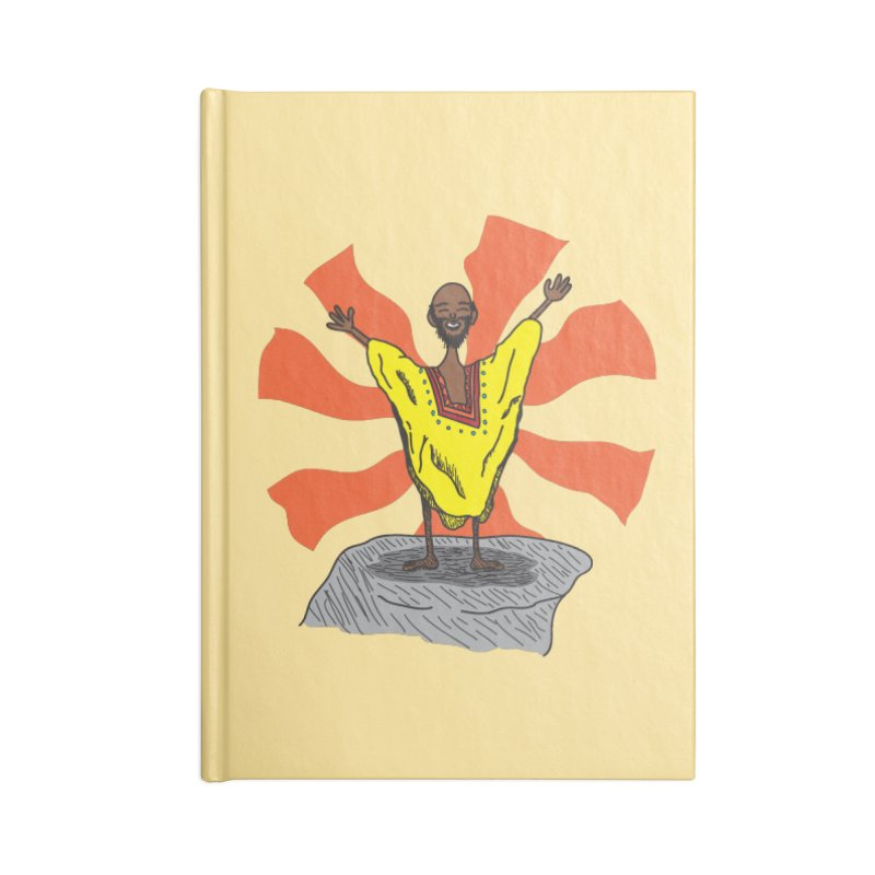 The Elated Guru Accessories Notebook by Lanky Lad Apparel