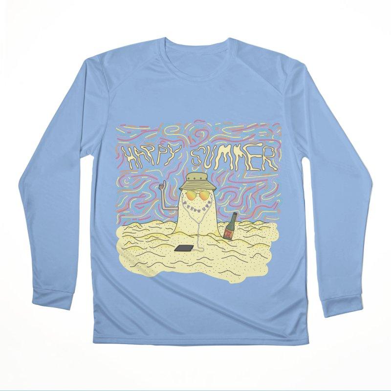 Happy Summer Women's Longsleeve T-Shirt by Lanky Lad Apparel