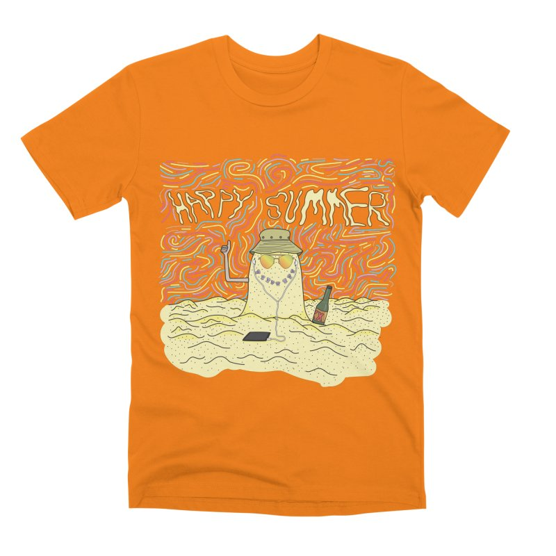 Happy Summer Men's T-Shirt by Lanky Lad Apparel
