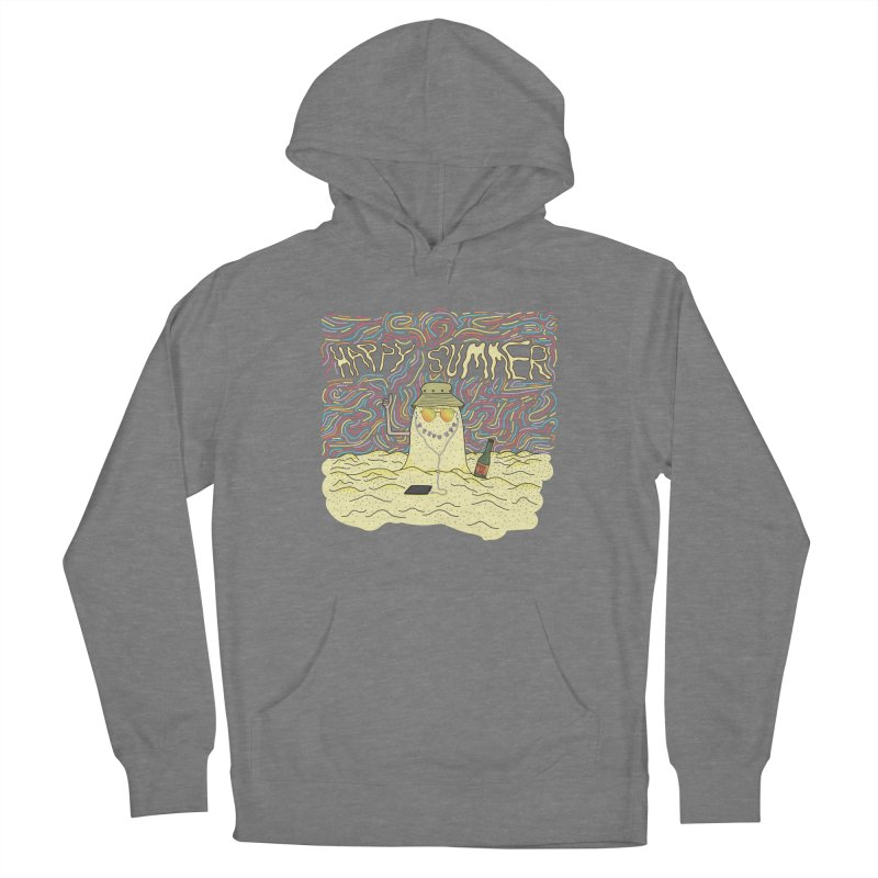 Happy Summer Women's Pullover Hoody by Lanky Lad Apparel