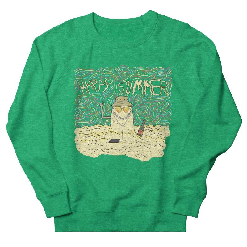 Happy Summer Women's Sweatshirt by Lanky Lad Apparel