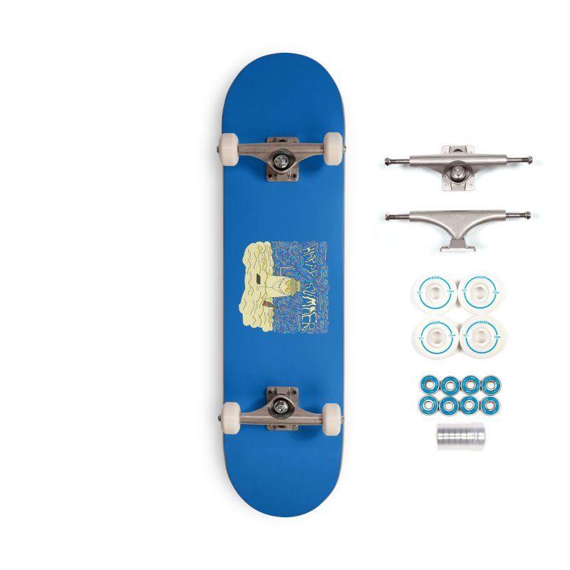 Happy Summer Accessories Skateboard by Lanky Lad Apparel