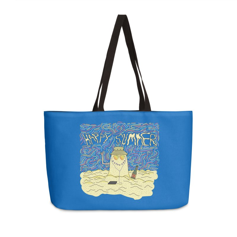 Happy Summer Accessories Bag by Lanky Lad Apparel