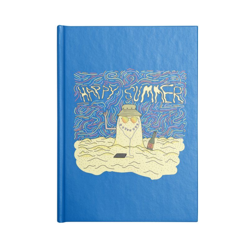 Happy Summer Accessories Notebook by Lanky Lad Apparel