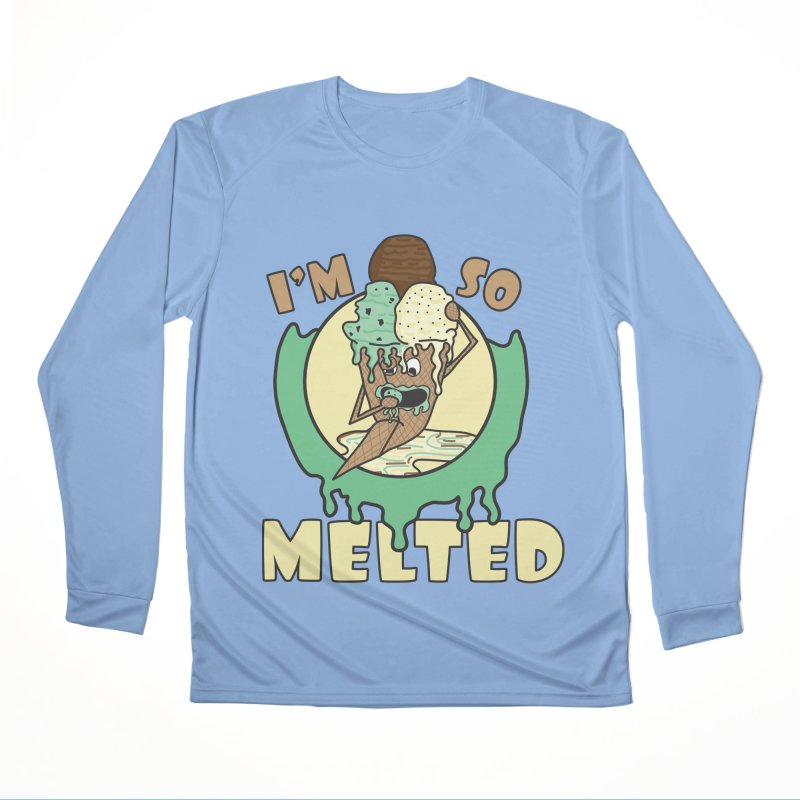 I'M SO MELTED Men's Longsleeve T-Shirt by Lanky Lad Apparel