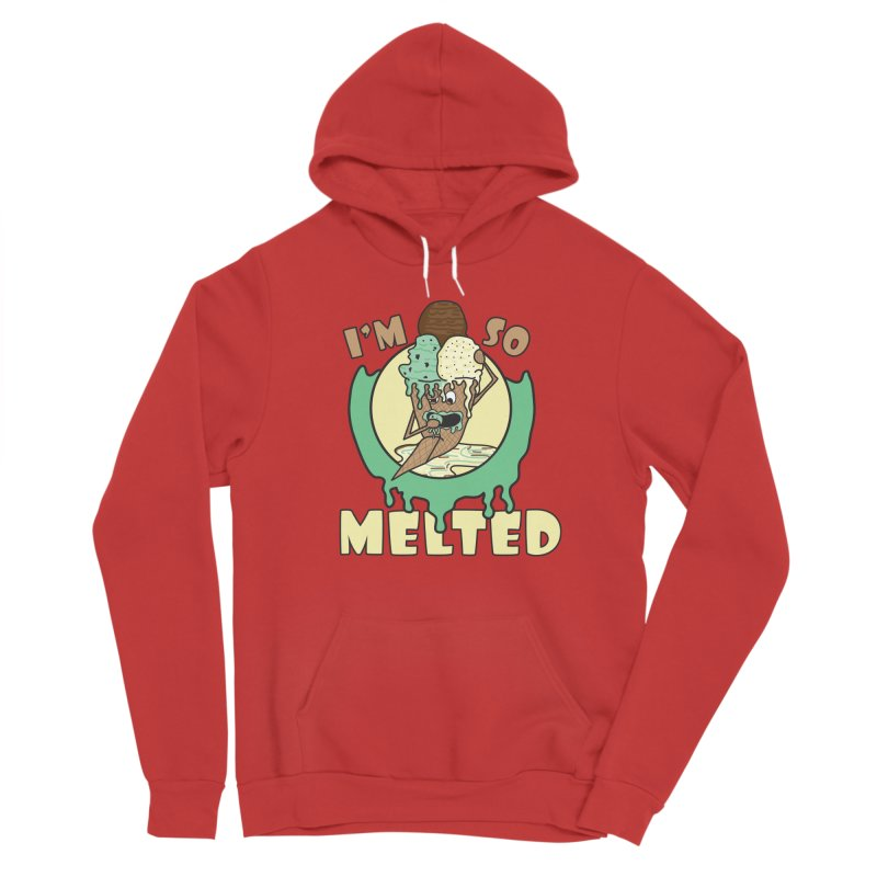 I'M SO MELTED Men's Pullover Hoody by Lanky Lad Apparel