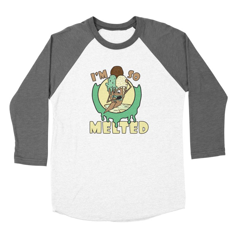 I'M SO MELTED Women's Longsleeve T-Shirt by Lanky Lad Apparel