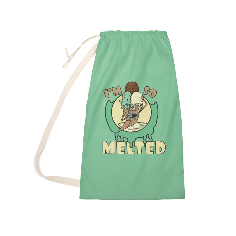 I'M SO MELTED Accessories Bag by Lanky Lad Apparel