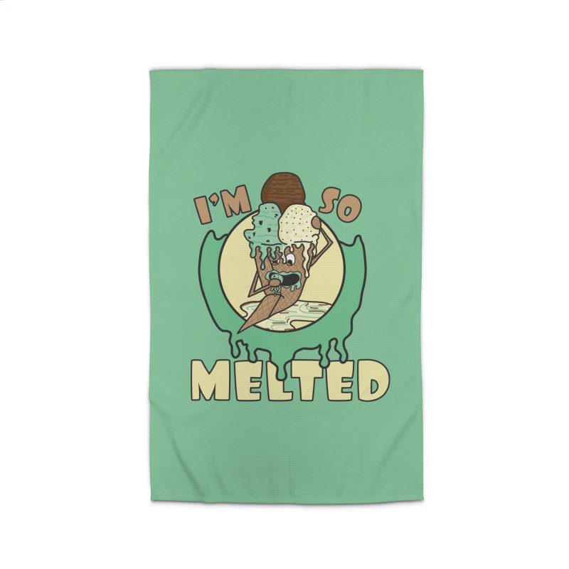 I'M SO MELTED Home Rug by Lanky Lad Apparel