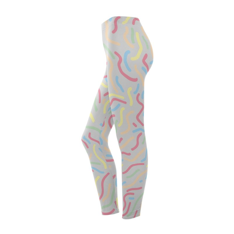 Squiggle Women's Bottoms by Lanky Lad Apparel