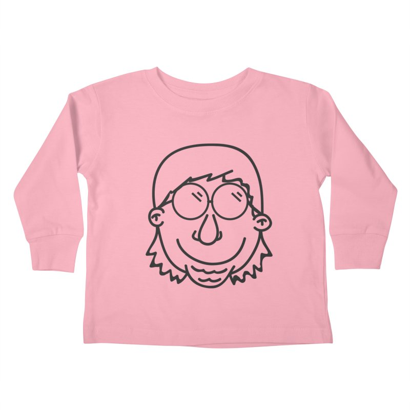 The Lanky Lad Kids Toddler Longsleeve T-Shirt by Lanky Lad Apparel