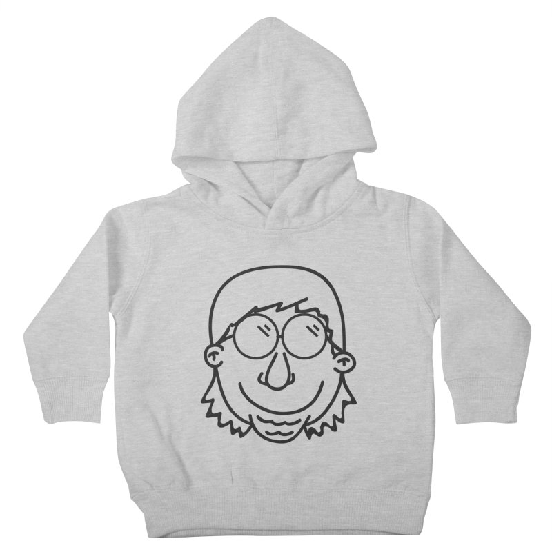 The Lanky Lad Kids Toddler Pullover Hoody by Lanky Lad Apparel