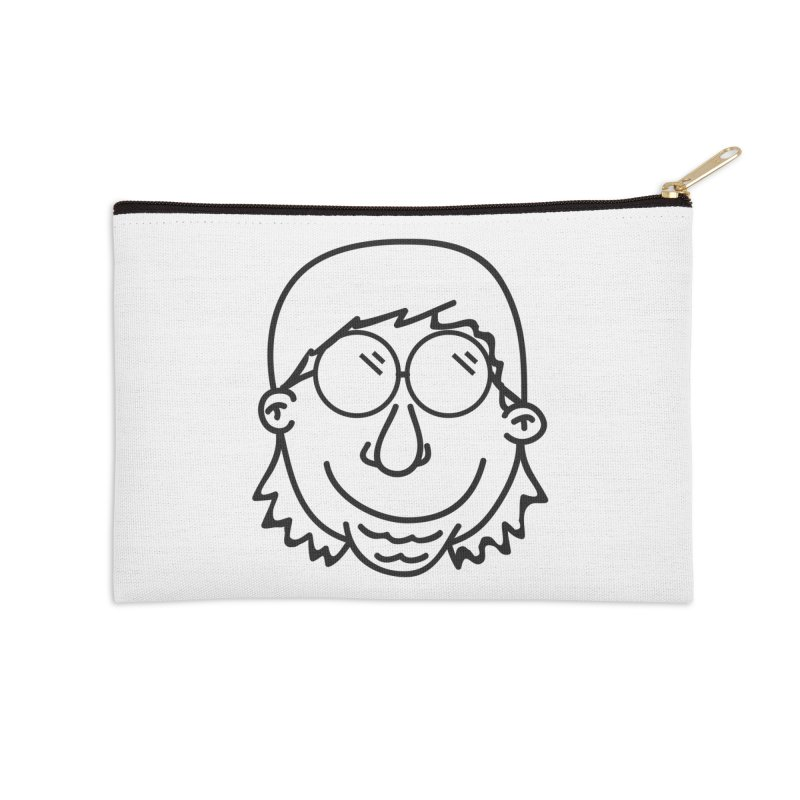 The Lanky Lad Accessories Zip Pouch by Lanky Lad Apparel