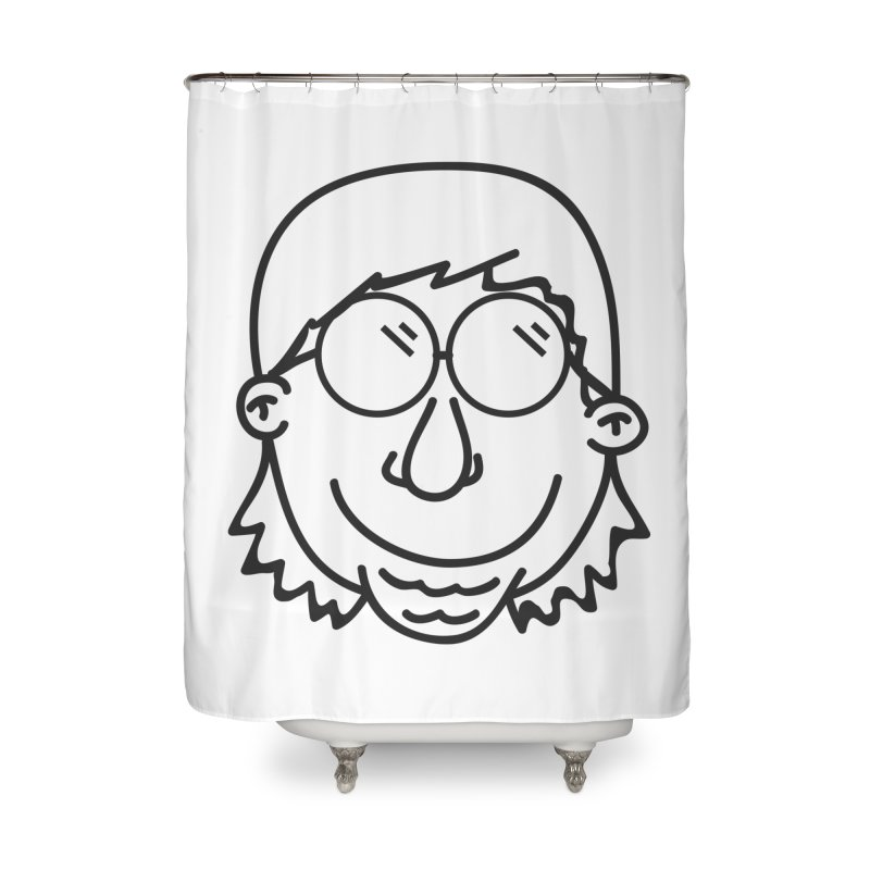The Lanky Lad Home Shower Curtain by Lanky Lad Apparel