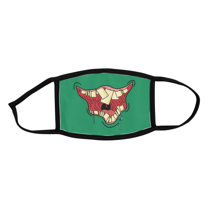 Crooked Smile Accessories Face Mask by Lanky Lad Apparel