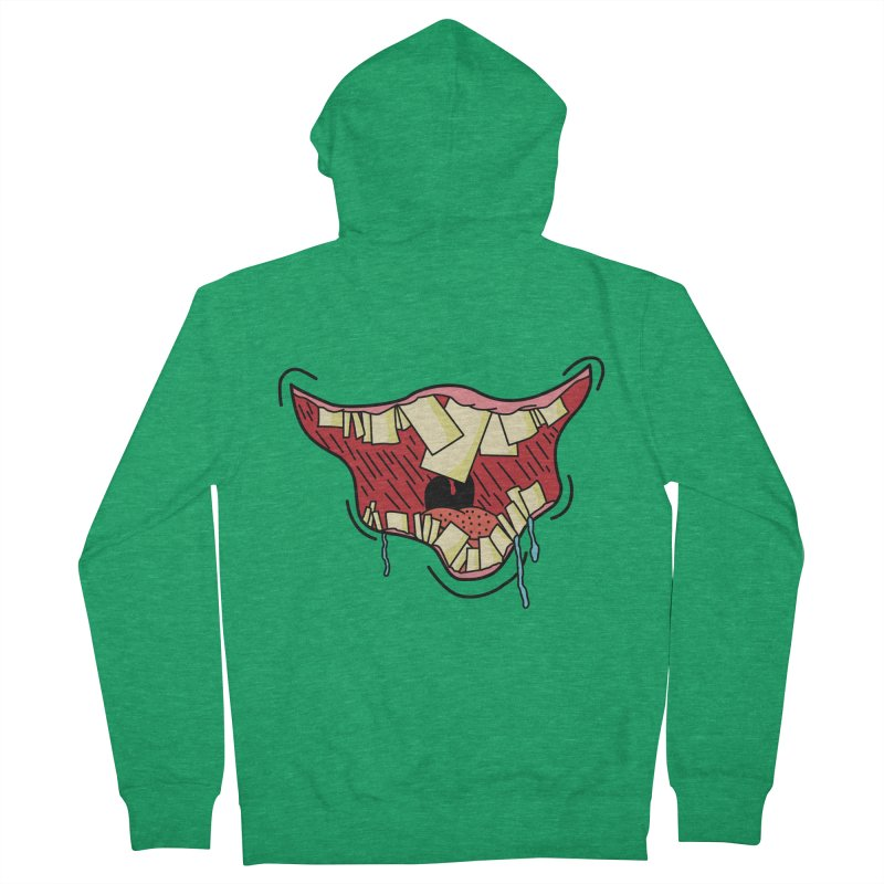 Crooked Smile Women's Zip-Up Hoody by Lanky Lad Apparel