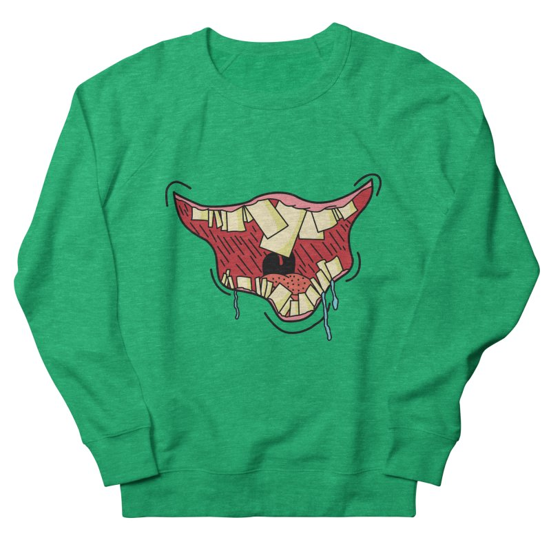 Crooked Smile Women's Sweatshirt by Lanky Lad Apparel