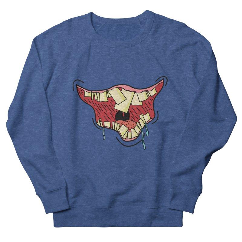 Crooked Smile Men's Sweatshirt by Lanky Lad Apparel