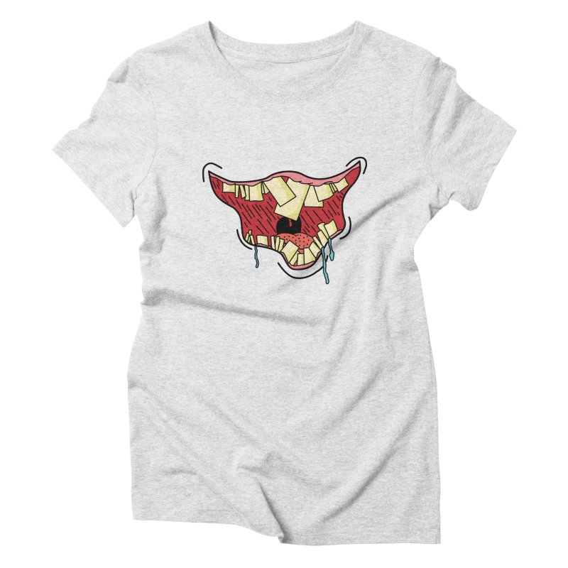Crooked Smile Women's T-Shirt by Lanky Lad Apparel