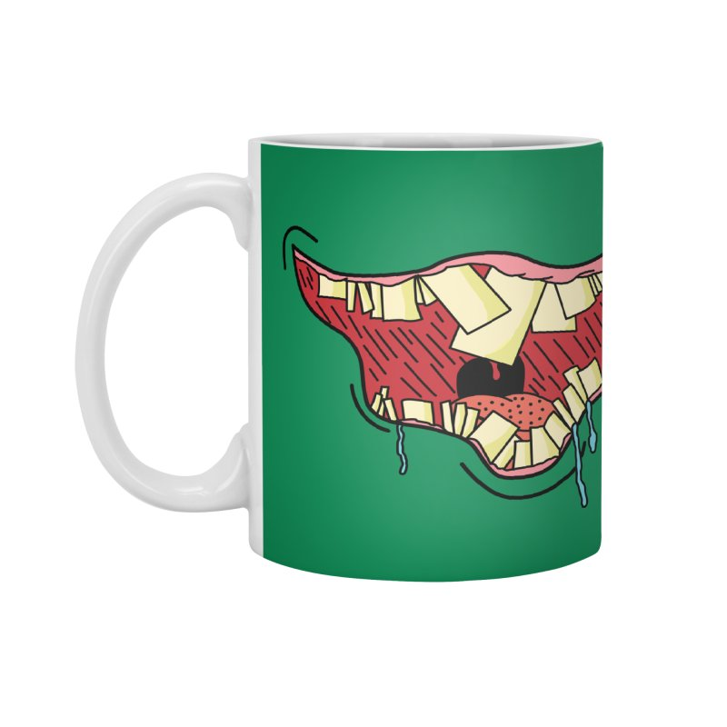 Crooked Smile Accessories Mug by Lanky Lad Apparel