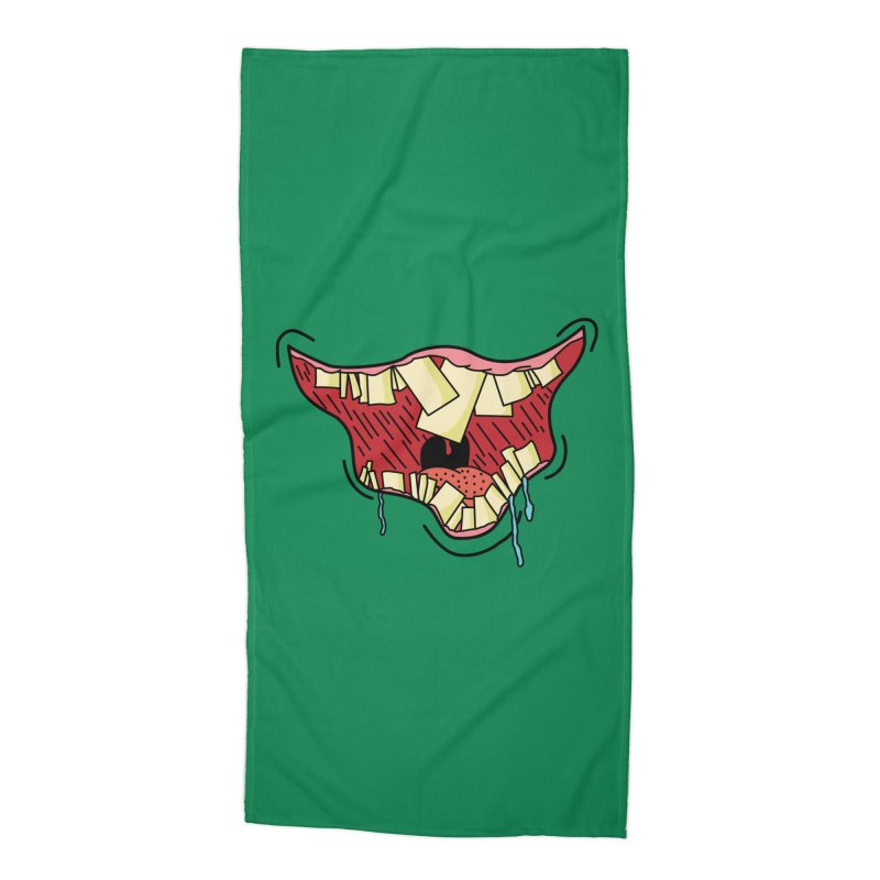 Crooked Smile Accessories Beach Towel by Lanky Lad Apparel