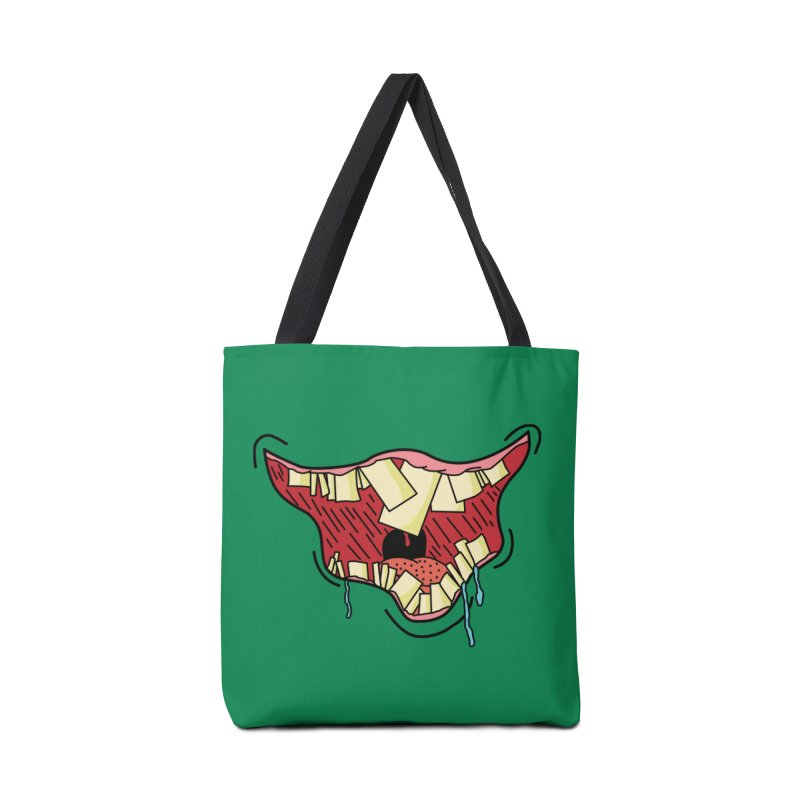 Crooked Smile Accessories Bag by Lanky Lad Apparel