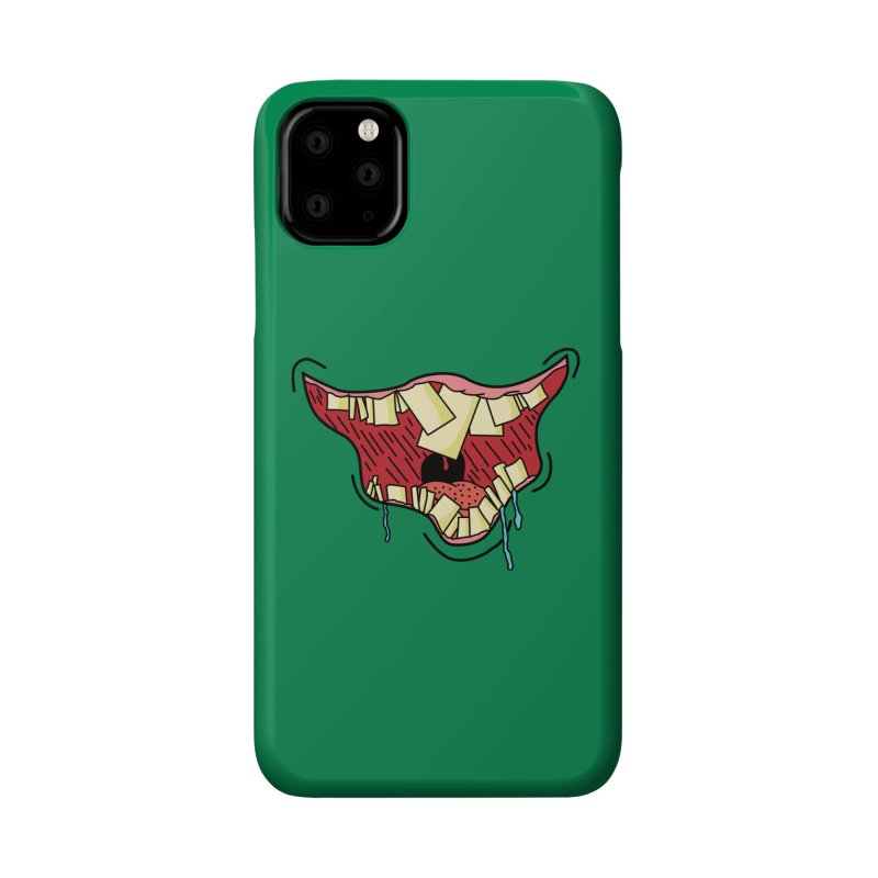 Crooked Smile Accessories Phone Case by Lanky Lad Apparel