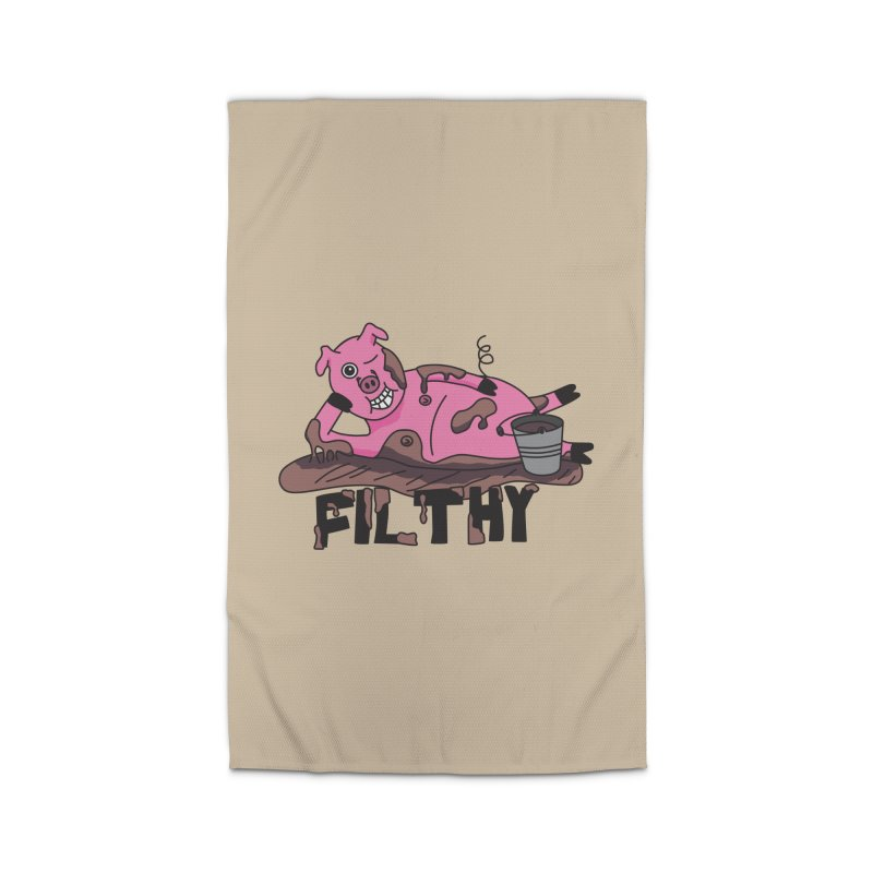 Filthy Pig Home Rug by Lanky Lad Apparel