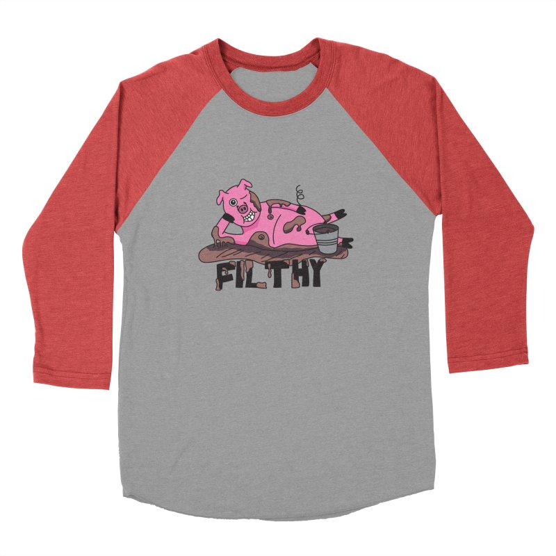 Filthy Pig Men's Longsleeve T-Shirt by Lanky Lad Apparel
