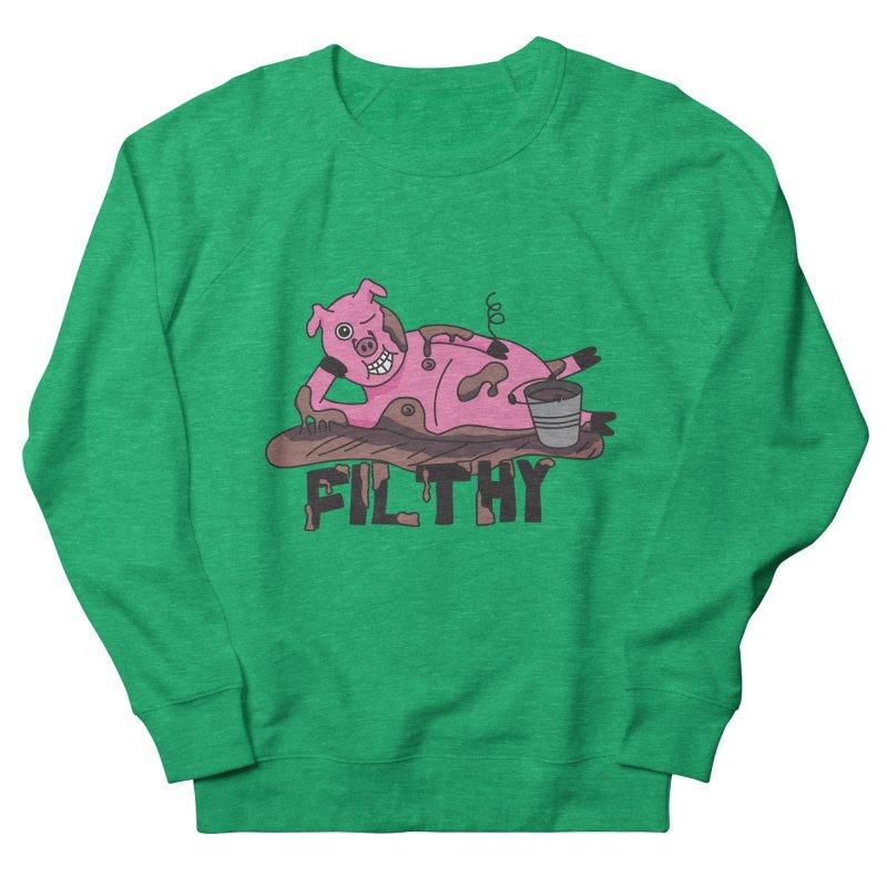 Filthy Pig Women's Sweatshirt by Lanky Lad Apparel