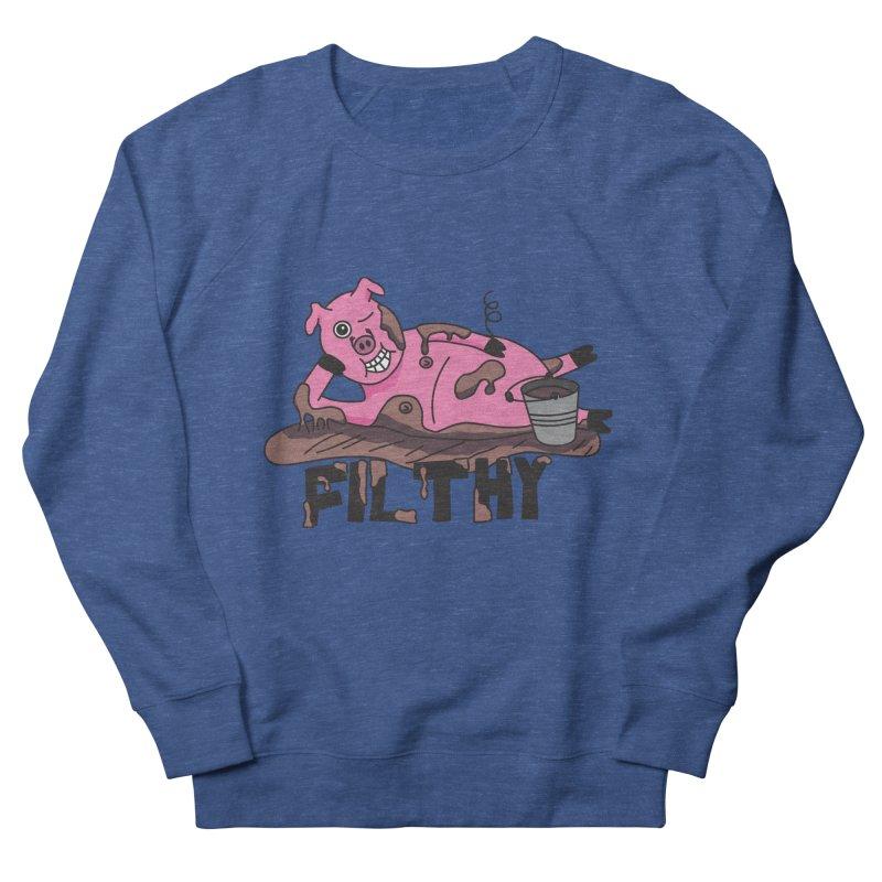 Filthy Pig Men's Sweatshirt by Lanky Lad Apparel