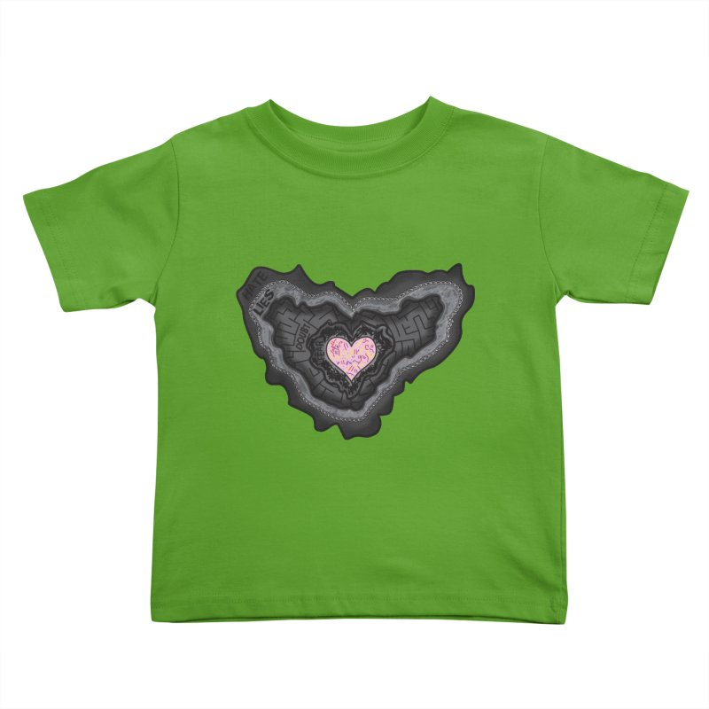 Hard Shell Kids Toddler T-Shirt by Lanky Lad Apparel